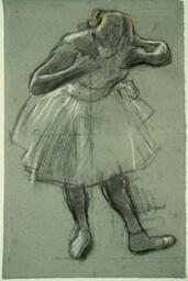 Dancer Bending Forward