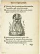 Matrona Belgica primaria (Belgian Matron of the First Rank) from Gynaeceum, sive Theatrum Mulierum, plate 53 from Woodcuts from Books of the XVI Century
