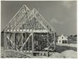 Untitled (Housing Construction, Arthurdale Subsistence Homestead Project, Reedsville, West Virginia)