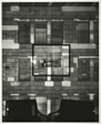 Camera Obscura Image of Building Facade on Wall With Photograph, LaSalle Bank, Chicago