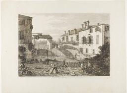 Le Porte Del Dolo, from Vedute