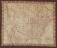Map of North America (Handkerchief)