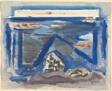 Blue Sea (recto); Sheet of Sketches (verso)