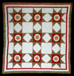 Bedcover (Sunburst or Feathered Edged Star Quilt)