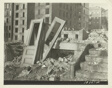 Demolition for Slum Clearance. Whole Blocks of a Slum Area are Torn Down to Make Way for an Eventual Housing Project, New York City, New York