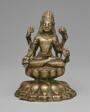 Four-Armed Bodhisattva Avalokiteshvara Seated in Lotus Position (Padmasana)
