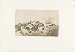 Even Worse, plate 22 from The Disasters of War