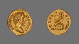 Aureus (Coin) Portraying Emperor Antoninus Pius