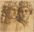 Two Studies of the Head of a Youth