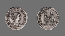 Denarius (Coin) Portraying Plautilla
