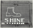 Shoeshine Sign in Southern Town