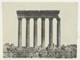 Baalbeck (Héliopolis), Colonnade Du Temple Du Soleil; Syrie