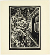 Tasco - print #5 of 52 in the 1936 Calendar of The Chicago Society of Artists