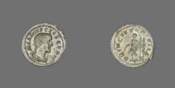 Denarius (Coin) Portraying the Emperor Maximus