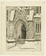 Church Doorway, Snow