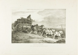 The Coal Wagon, plate 7 from Various Subjects Drawn from Life on Stone