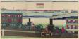 Picture of Steam Locomotives Traveling (Jokisha rikudo tsuko no zu)