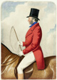 Equestrian Portrait of Lord Simpson