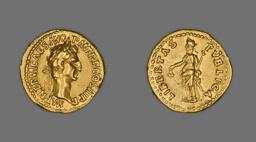 Aureus (Coin) Portraying Emperor Nerva