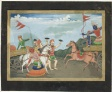 Arjuna Slays Karna, Page from a Mahabharata Series
