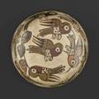 Bowl Depicting Hummingbirds