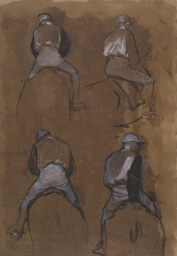 Four Studies of a Jockey
