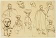 Sketches of Algerian Men
