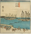 """True View of Takanawa (Takanawa shinkei), section of a sheet from the series """"Famous Places in the Eastern Capital (Toto meisho)"""""""
