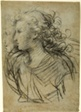 Half-Length View of Female in Profile to Left (recto); Half-Length view of Figure in Three-Quarter Profile (verso)