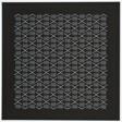 Grid Gable Garage Tapestry