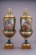 Pair of Vases (Vases à Pied de Globe)