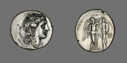 Tetradrachm (Coin) Depicting Persephone