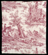 La Route de Jouy (The Road to Jouy) (Furnishing Fabric)