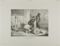 A Paraleytic Woman, plate 9 from Various Subjects Drawn from Life on Stone