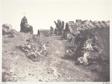 Chaumieres en Auvergne, avec un calvaire