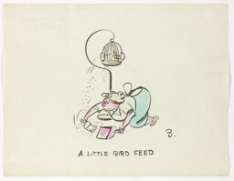 A Little Bird Seed, from Household Pe(s)ts: The Canary