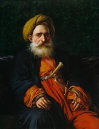 Portrait of the Katchef Dahouth, Christian Mameluke