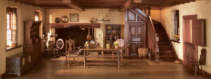 Rooms: A17: Pennsylvania Kitchen, 1752