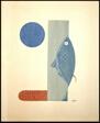 "Fish, from the book of poems ""Milestones of the Season,"" (Shibunshu ""Kisetsu-hyo"")"