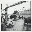 L. Ferguson Bernier, R. Thomas Courtney, Crew Aboard the Tugboat Desplaines. Calumet River Fleeting, Inc. Throwing a Rope from the Tug to a Chemical Barge