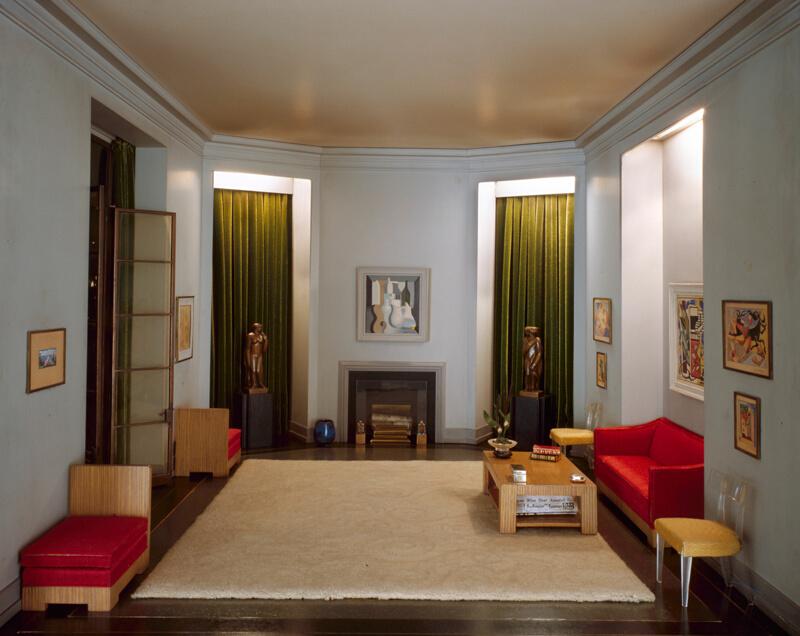 Rooms: A37: California Hallway, C. 1940