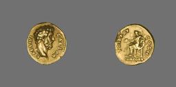 Aureus (Coin) Portraying Lucius Aelius Caesar