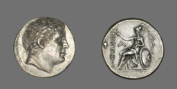 Tetradrachm (Coin) Portraying Philetairos of Pergamon