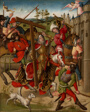 Emperor Heraclius Denied Entry into Jerusalem