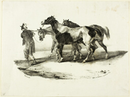 Horses Being Led to the Skinner