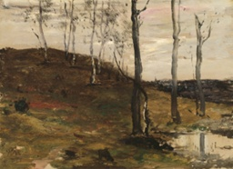 Hillside with Trees
