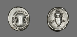 Stater (Coin) Depicting a Shield