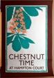 Chestnut Time at Hampton Court
