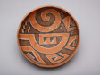 Polychrome Bowl with Abstract Geometric Motifs