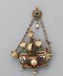 Pendant Shaped as a Ship